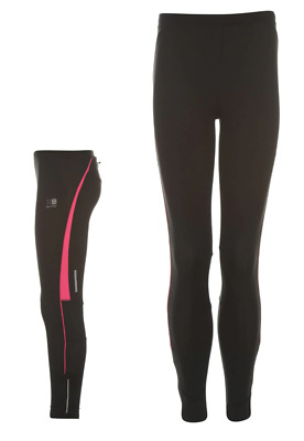 KARRIMOR Girls Black & Pink Running Tights Bottoms 11-12 Years BNWT