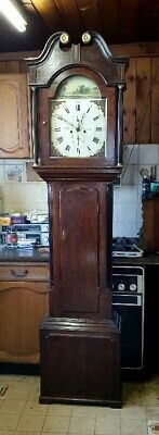 A Victorian antique Grandfather longcase clock for restoration