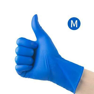 Disposable Gloves Nitrile Powder Free Latex Free Examination Med Blue healthgard