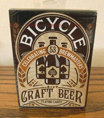 New Bicycle Craft Beer Playing Cards Standard Porker Size Deck Craft Breweries