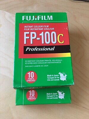 2 Packs Of FujiFilm FP-100C Exp 2015-09