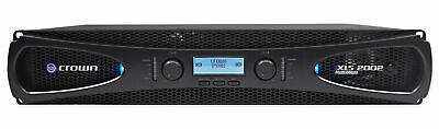 Crown XLS2002 2-Channel 650W Power Amplifier with Onboard DSP NEW IN BOX