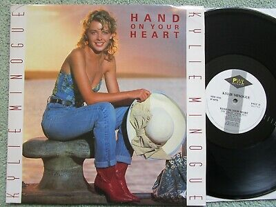 Kylie Minogue – Hand On Your Heart PWL Records PWLT 35 UK Vinyl 12inch Single