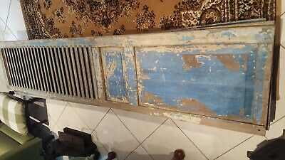 Antique Vintage Tall Pair French Plantation Shutters / Doors / Windows