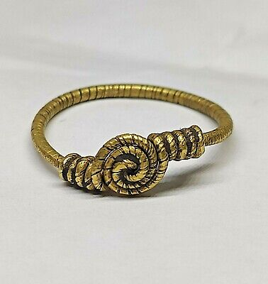 Golden Vikings twisted  ring  9-12 centuries