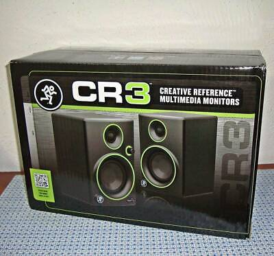 New Mackie Cr3 3-Inch 2-Way Creative Reference Multimedia Powered Monitor (Pair)
