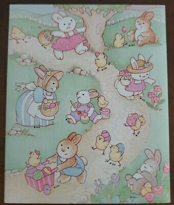 *faint scent* Easter Vintage Scratch /& Sniff Stickers Gibson Greetings