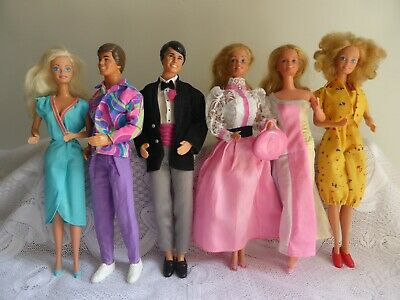1980s Barbie + Ken with Fashions
