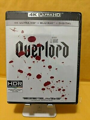 Overlord [4K ULTRA HD+BLURAY DISCS ONLY!!] [NO DIGITAL]
