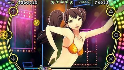 Persona 4: Dancing All Night (Sony PlayStation Vita, 2015) GAME ONLY NO CASE