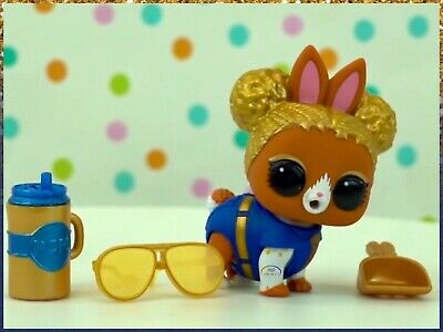 LOL Surprise SOUL BUN Fuzzy Pets Makeover Series 5 Wave 2 Baby Animals~Authentic