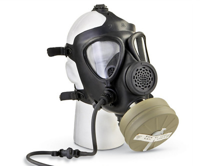 Israeli Military M15 Rubber Gas Mask Israel Army Troops Protective Gear One Size