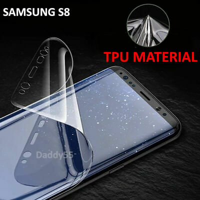 For Samsung Galaxy S8 S9 Plus - 100% Genuine TPU Screen Protector - Clear