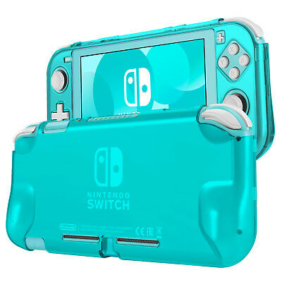 Hard Case for Nintendo Switch Lite Case Skin Cover (Turquoise) Comfort Grip