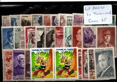 Lot timbres de France neufs **