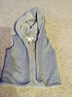 Country Road Girls Lined Vest Size 2-3 EUC