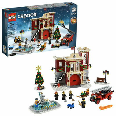 Lego 10263 Creator Expert Winter Village Fire Station - Brand New In Sealed Box