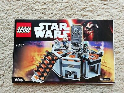 LEGO 75137 Star Wars Carbon Freezing Chamber INSTRUCTION BOOKLET MANUAL ONLY