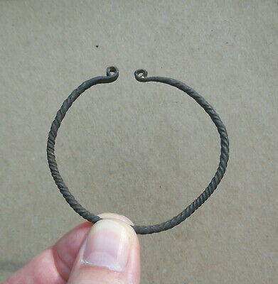 Medieval Viking Era Bronze Twisted Bracelet 9th-11th century AD