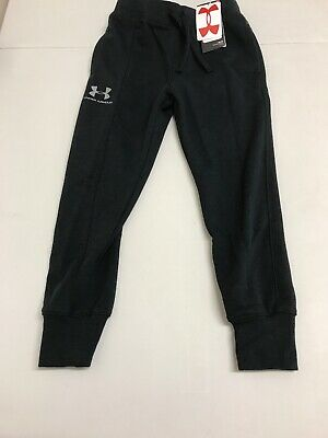 Under Armour Boys rival blocked joggers black Size YXS (A19)