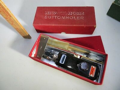 Vintage New Home BUTTONHOLER Sewing Machine