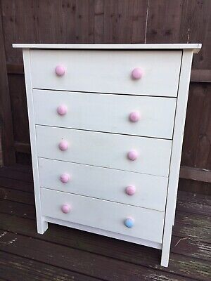 Chest Of Drawers Shabby Chic/ Upcycle Project