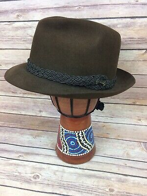 Men's Stetson Key Club Imperial Fedora Hat Ultimate Finish  Size Small 6 7/8