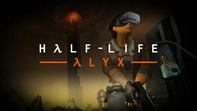 Half-Life Alyx VR Virtual Reality Complete Game