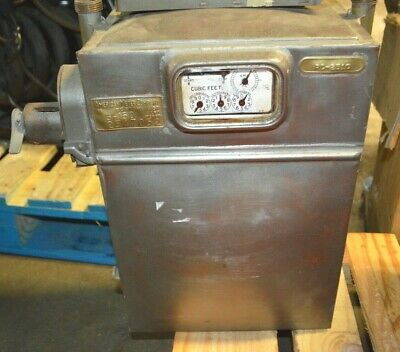 Rare Antique 1950 COIN OPERATED Natural GAS Meter American Meter Company