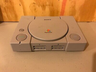 Sony PlayStation 1 Gray PS1 * Console ONLY * SCPH-9001 WORKS BUTTON STICKING