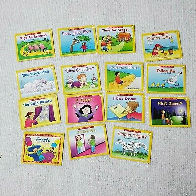 Lot of 15 Scholastic Little Leveled Readers Books Level A Yellow Learn to Read