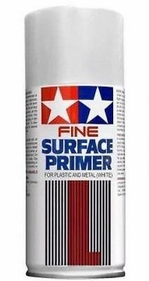 Tamiya Fine Surface Primer L White Fondo Spray Bianco Metallo E Plastica  87044