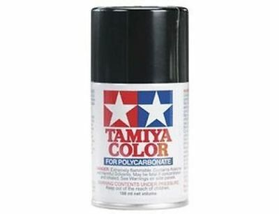TAMIYA COLORE SPRAY PER POLICARBONATO BLACK NERO 100ml    ART PS5