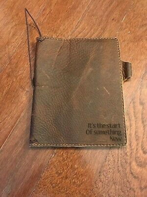 Chic Sparrow travelers notebook B6 TN Deluxe Waypoint Rich Caramel Travellers
