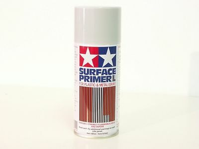 Tamiya Surface Primer L Gray Fondo Spray Grigio Per Plastica E Metallo Art 87042