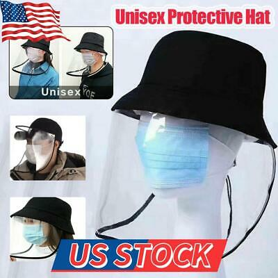 Anti-Spitting Protective Hat Cover Unisex Outdoor Fisherman Cap Splash-Proof USA