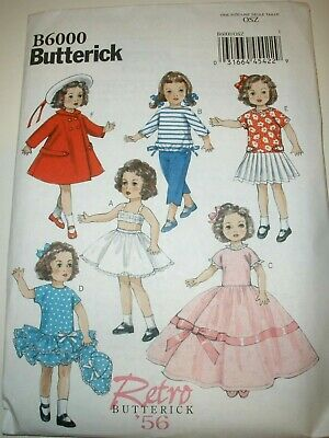 Dress It Up Doll Clothes Sewing Pattern for Peter /& Mortimer Mort Tonner