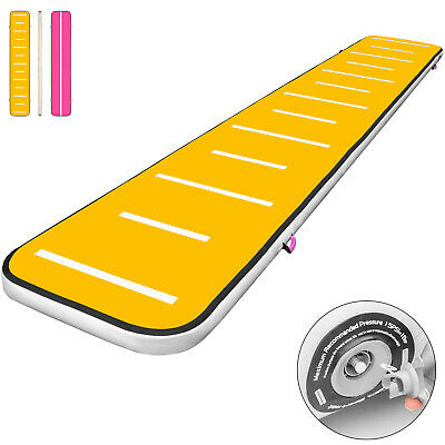 20FT Air Track Inflatable Airtrack Tumbling Gymnastics Floor Mat Home Training