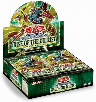 NEW Yu-Gi-Oh YuGiOh Duel Monsters RISE OF THE DUELIST BOX