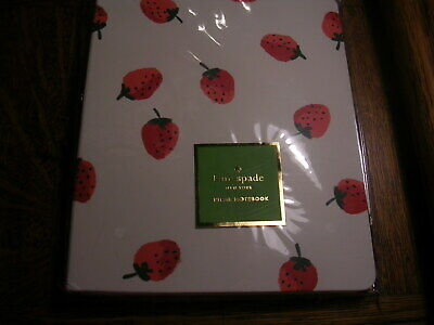 Kate Spade New York Strawberries Concealed Spiral Notebook 8 1/2 X 6 3/4 Nwt