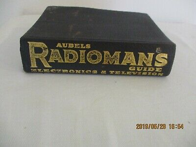 Audels Radioman's guide Electronics & television by E.P.Anderson 1945