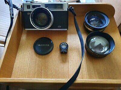 Yashica GS Electra 35 and lenses