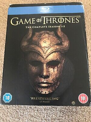 Game Of Thrones. The Complete Seasons 1-5. (23 x BluRay Box Set)