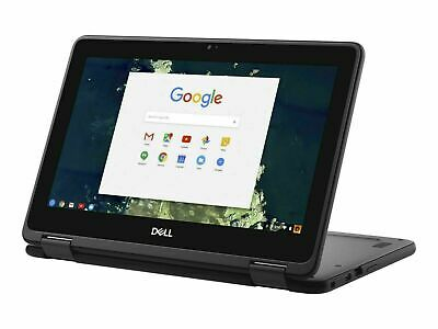 """Dell Chromebook 5190 Refurbished 2 in 1 Laptop 11.6"""" Touchscreen Laptop 32GB SSD"""