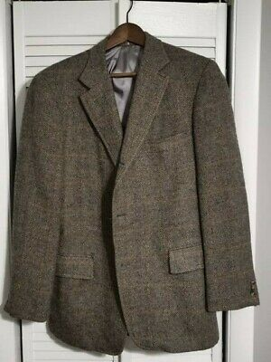 "J Press ""Donegal Mist"" Tweed 3/2 Sport Coat : Cashmere, Mohair, Wool, 40R"