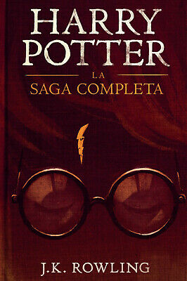 J. K. Rowling - Harry Potter - 7 Ebook Pdf Saga Completa - Invio Immediato