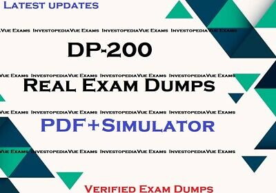 DP-200 real exam dumps questions answers & Simulator