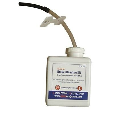 One Person Brake Bleeding Kit   - NEW - FREE DELIVERY -  TBT0530