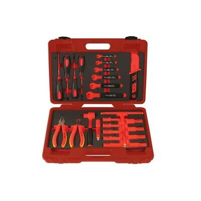 Laser 6150 VDE INSULATED FULL TOOL KIT SPANNERS SOCKETS SCREWDRIVERS Hybrid