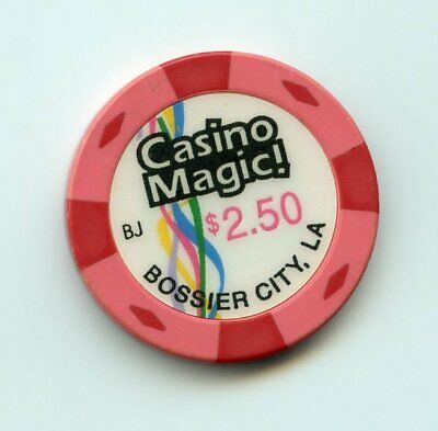 2.50 Chip from the Casino Magic Bossier City Louisiana